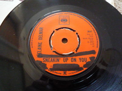 """Elaine Delmar """"sneakin Up On You"""" Rare 1968 Jazz/funk/soul Plays Excellent/nm"""