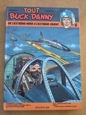 Bd Bergese Charlier Tout Buck Danny N°6 * Dupuis 1985 Tbe