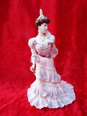 COALPORT EUGENIE - FIRST NIGHT AT THE OPERA Golden Age Limited Edition Figurine