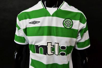 2001-03 Umbro Celtic FC  Home Football Shirt SIZE S (adults)