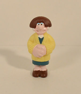 "2.5"" Wendolene Ramsbottom Girl Wallace & Gromit 1989 Irwin PVC Action Figure"