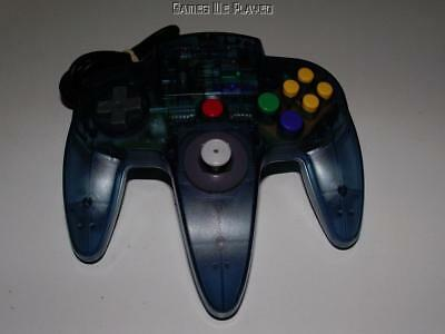 ASCII Nintendo 64 N64 Clear Blue Controller Refurbed Toggle