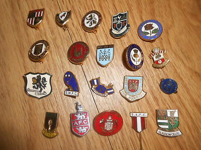 Football Badge Collection Of 20 Badges  All Different