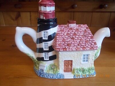 Lighthouse novelty teapot, RFA brand
