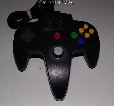 Hudson Nintendo 64 N64 Charcoal Grey Controller Refurbed Toggle