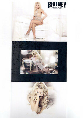 Britney Spears promo paper poster picture the intimate rare collection ff fatale