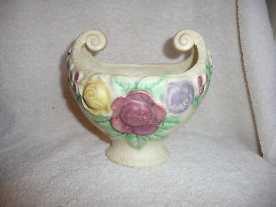 Roseville Rozane Compote/bowl Real Good!!! Nr