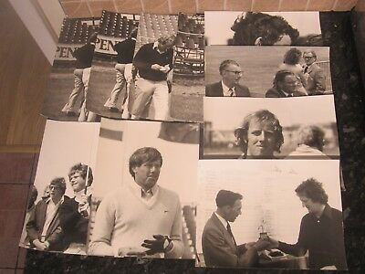 Collection of Original Golf Photographs - Tom Watson/Eamonn Darcy + Others