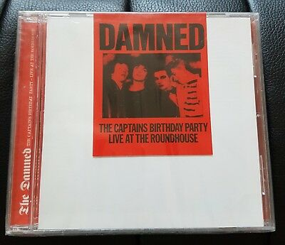 The Damned Captain's Birthday Party Album Uk Cd Sealed Punk Goth New Old Stock