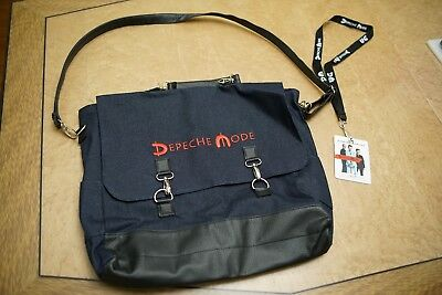 Depeche Mode Messenger Bag and TWO VIP Lanyard - Global Spiirit Tour - EXCLUSIVE