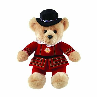 "BEEFEATER Teddy Bear 10"" Souvenir~Plush/Cuddly/Soft Toy~New~Aurora 60164"