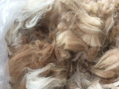 200g of Alpaca fleece for padding dolls, cushions, needle felting&other crafts
