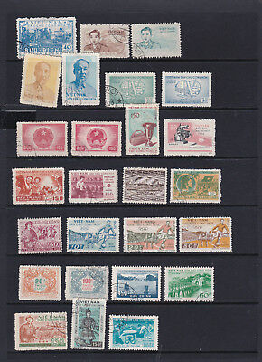 Vietnam - North - Excellent Pictorial Stamp Selection  2 SCANS (Vi18097)