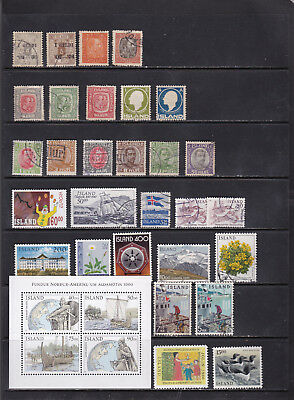 Iceland - Wide Ranging Superior Stamp Selection  2 SCANS (Ic21091)