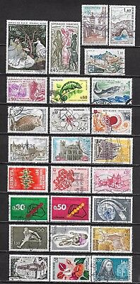 Lot = belle collection FRANCE: anciens 25 & 26