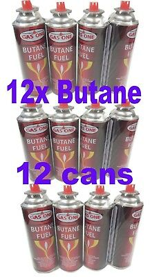Gasone 12 Cans Butane Fuel Canisters Portable Camping Stoves Outdoor 12 Pack 8OZ
