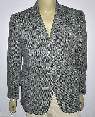 Stylish Smart Casual Country Style Harris Tweed Wool Jacket Blazer 42R Vgc
