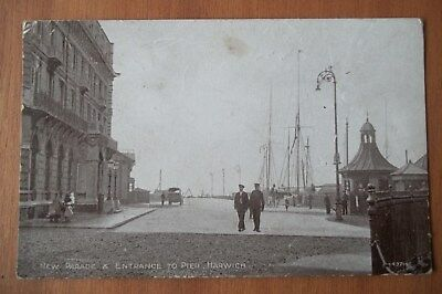 Parade & Entrance To Pier, Harwich, Essex