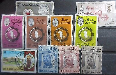 Bahrain Various Used Issues.