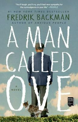 A Man Called Ove by Fredrik Backman 2015 Paperback Never Read
