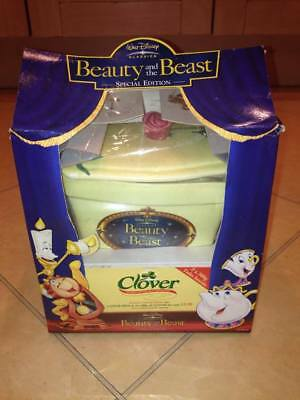 Disney Beauty And The Beast Clover Promotion Butter Dish Special Edition & Tubs