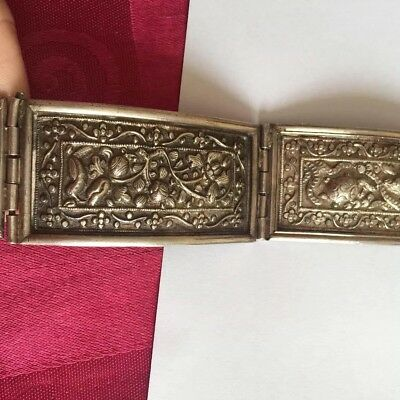 Antique Chinese Tested Solid Silver Waist Belt 224g