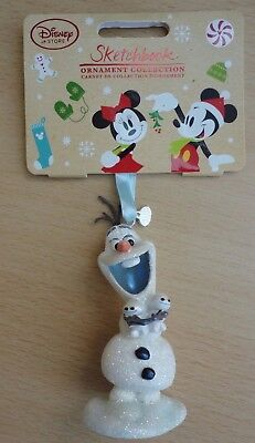 BNWT Disney Sketchbook Christmas Ornament Collection - Frozen Fever Olaf 2016