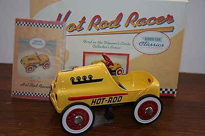 Very Nice Hallmark Kiddie Car Classic 1956 Garton Hot Rod Racer Toy Pedal Car