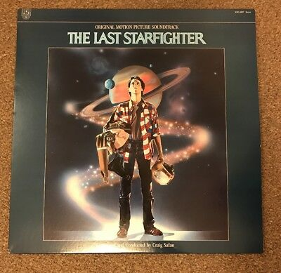 The Last Starfighter Vinyl Soundtrack Record - Excellent Condition - SCRS 1007