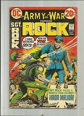 Our Army At War #251 Sgt. Rock 4.5-5.5 Free Combined Shipping