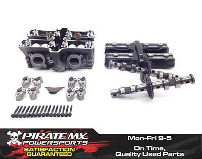 Vmax 1200 Engine Cylinder Head Complete W Cams Rear from 2002 Yamaha VMX #17 x