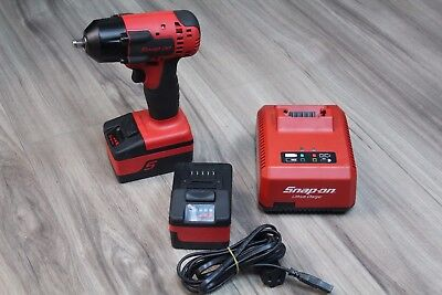 "Snap-on CT8810A 3/8"" Drive 18V MonsterLithium Impact Wrench Kit"