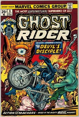 Ghost Rider 8 (1974) VF/NM-