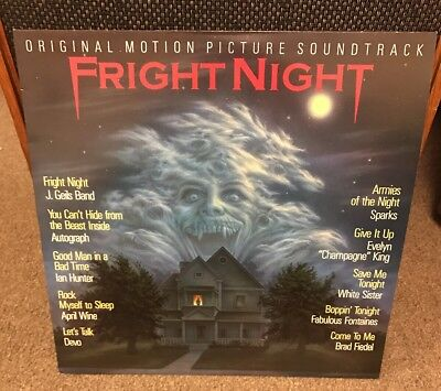 Fright Night LP Vinyl Soundtrack Excellent Condition Record - Horror