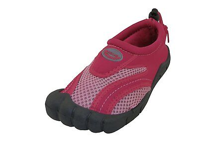 NEW Girly Womens USA Wave Barefoot Water Shoes Fushia/Pink Size 10 For Girls