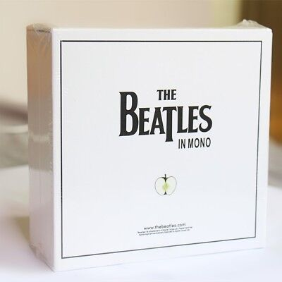 New amp Seal:The beatles In Mono Box Set 13CD Disc Se white box limited edition