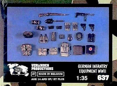 a Verlinden 637 - German Infantry Equipment WWII    (Scala 1/35)