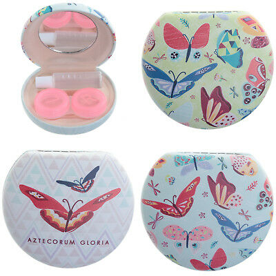 Butterfly Pocket Novelty Contact Lenses Case Ladies Girls Stocking Filler Gift