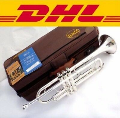 Senior Bach Silver Plated Bach Trumpet LT 180S-43 Small Brass Musical Instrument