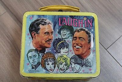 1968 Laugh-In Metal Lunch Box