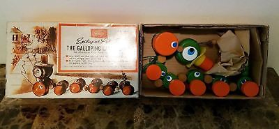 Vintage Sears Exclusive Pull Toy The Galloping Caterpillar Circa 1960's Nib L@@k