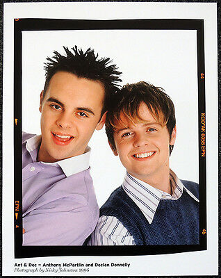 Ant & Dec Poster Page 1996 . I'm A Celebrity...get Me Out Of Here . R132