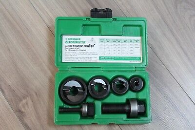 "Greenlee SlugBuster 7235BB Knockout Punch Kit 1/2"" to 1-1/4"" Conduit Size"
