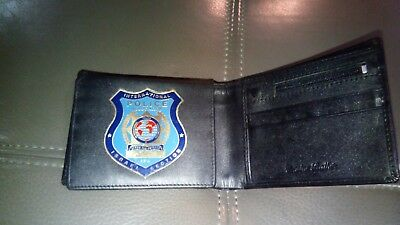 exclusive International Police Association Membership ID Card  LEATHER Wallet