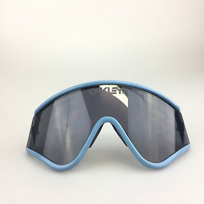 836a01e6fa Oakley Eyeshade Frame and Lens Only (no arms) Shield Lenses Blue Gray Parts