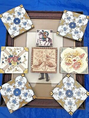 Victorian Architectural Fireplace Tiles
