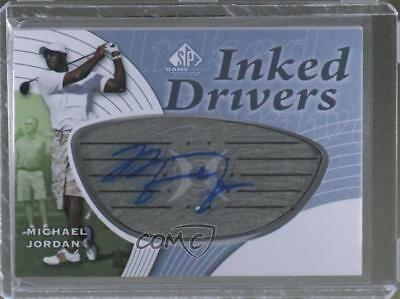 2012 SP Game Used Edition #ID-MJ Michael Jordan Auto Autographed Golf Card 1j6