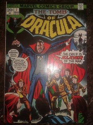 Tomb of Dracula #3 7 19 22 59 Bronze age lot of 5
