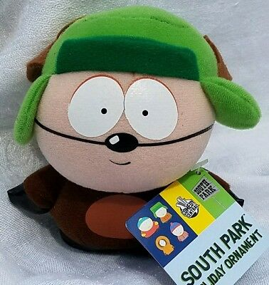 South Park Comedy Central KYLE PLUSH REINDEER  X-MAS ORNAMENT HOLIDAY K ADLER