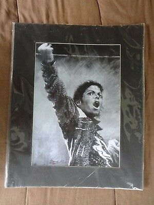 """Michael Jackson Poster Matted 16x20"""" Sealed"""